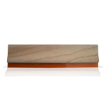 Squeegee Complete - Wood Handle - 70 Durometer - Sold By The Inch