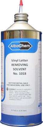 Albachem letter removing solvent for Albachem letter removing solvent
