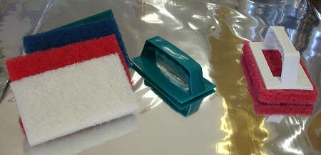 Franmar Scrub Pads Disposable Sold By Each