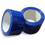 "BLUE BLOCKOUT TAPE R-TAPE (FOR SCREEN PRINTERS) 2"" ROLL X 36 YARDS - SOLD BY ROLL OR CASE OF 36"