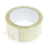 "CLEAR SHIPPING TAPE ) 2"" X 60 YARD ROLL / BY THE ROLL"