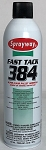 Sprayway Fast Tack 384 Super Flash Pallet Adhesive