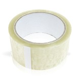 "CLEAR SHIPPING TAPE ) 2""X60 YARD ROLL / BY THE ROLL"