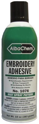 AlbaChem Embroidery Adhesive