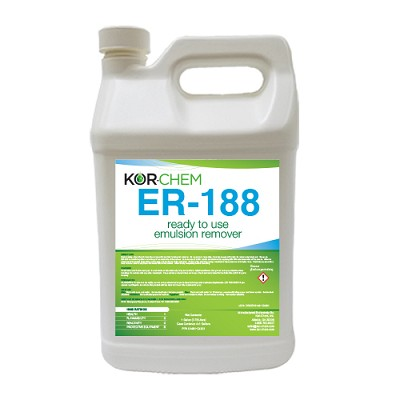 KORCHEM ER-188 EMULSION REMOVER / RECLAIMER - 1 GALLON