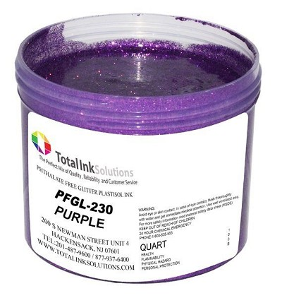 TOTAL INK SOLUTIONS GL-230 PURPLE GLITTER INK