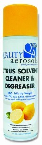 Citrus Solvent Cleaner & Degreaser 20 oz.