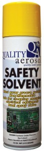 Safety Solvent Cleaner 20 oz.