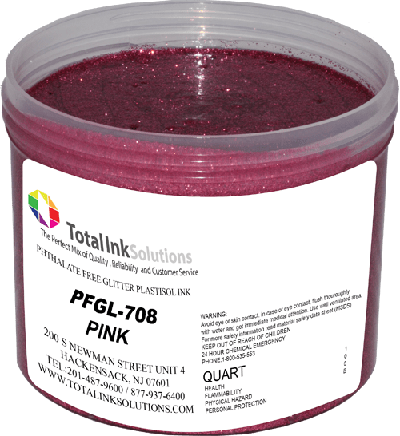 TOTAL INK SOLUTIONS GL-708 PINK GLITTER INK
